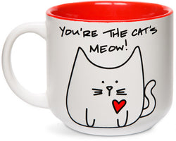 You're the cat's meow! Coffee Tea Beverage Mug