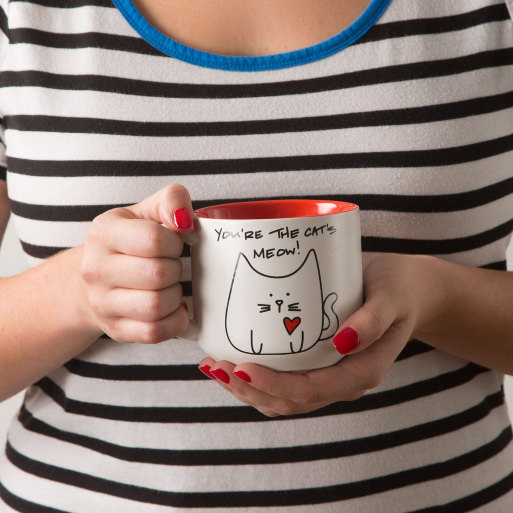 You're the cat's meow! Mug by Blobby Cat - Beloved Gift Shop