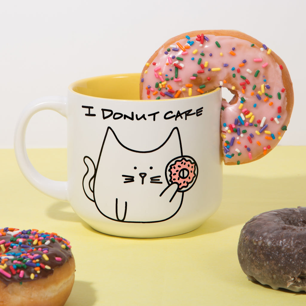 I donut care Coffee Tea Beverage Mug Mug - Beloved Gift Shop