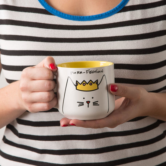 Purr-fection Princess Cat Mug Mug - Beloved Gift Shop