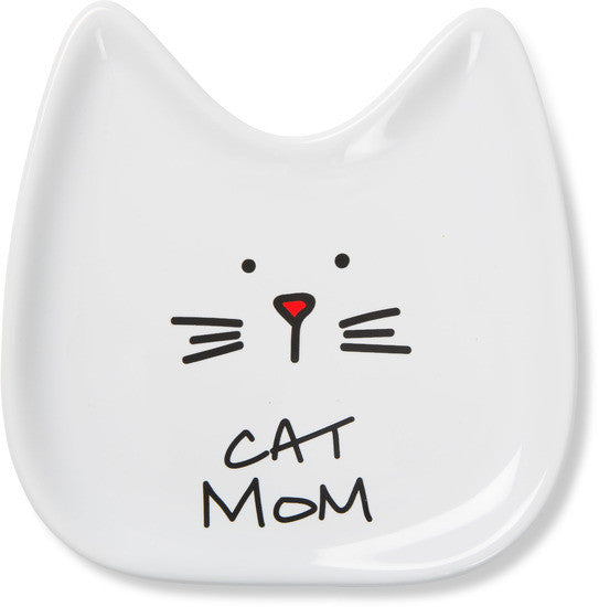 Cat Mom Spoon Rest