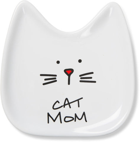 Cat Mom Spoon Rest by Blobby Cat - Beloved Gift Shop
