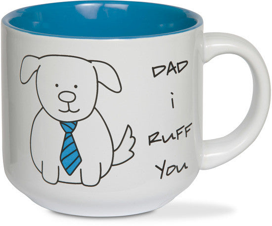 Dad I ruff you Coffee Mug