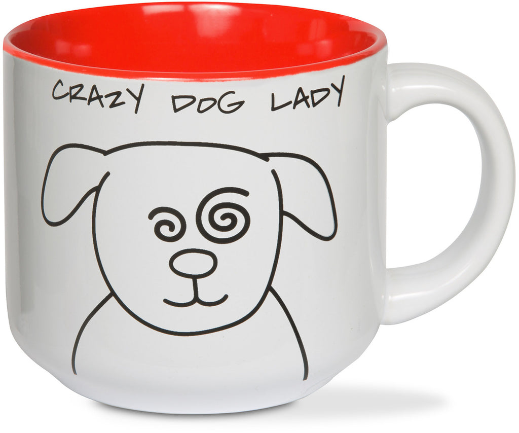 Crazy Dog Lady Coffee Tea Beverage Mug Mug - Beloved Gift Shop