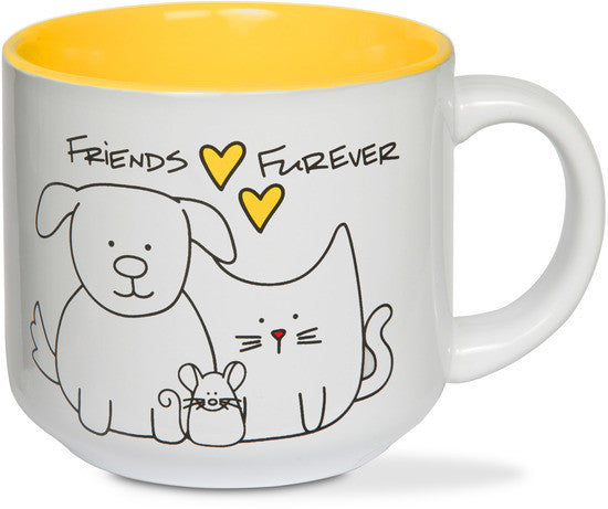 Friends furever Coffee & Tea Mug by Blobby Dog - Beloved Gift Shop