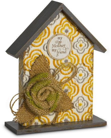 Mother Birdhouse Plaque by Simple Spirits - Beloved Gift Shop