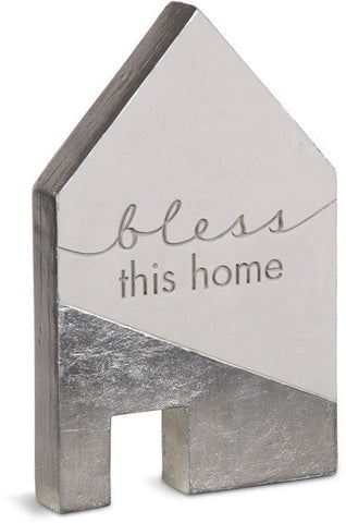 Bless this home - Cement House Plaque by Sweet Concrete - Beloved Gift Shop