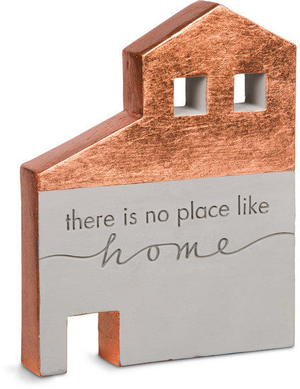 There Is No Place Like Home - Cement House Plaque by Sweet Concrete - Beloved Gift Shop