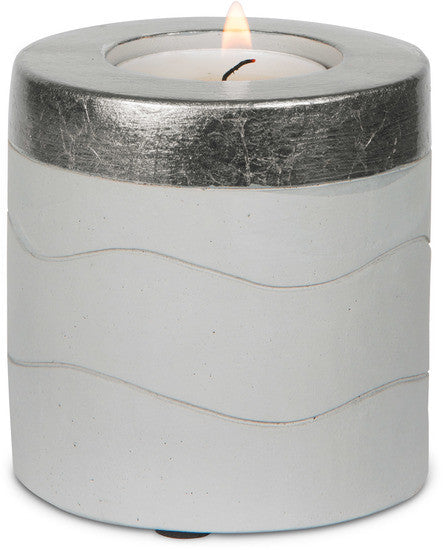 The Best Is Yet To Come Cement Candle Holder Candle Holder - Beloved Gift Shop
