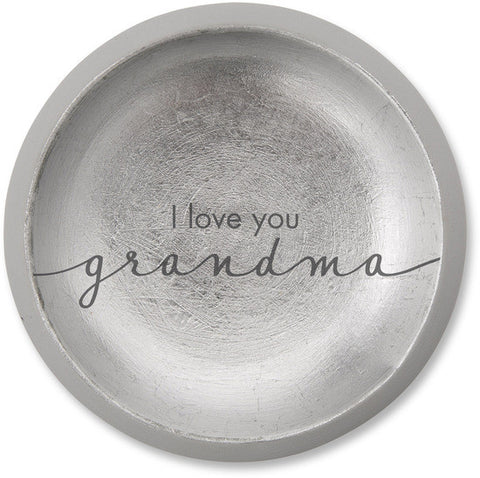 I love you Grandma - Cement Keepsake Dish by Sweet Concrete - Beloved Gift Shop