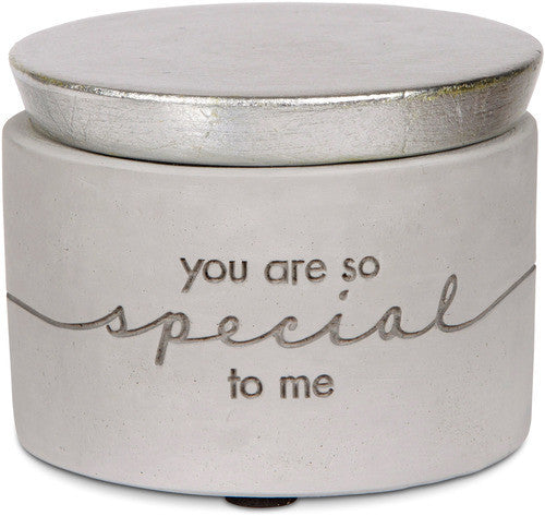 You are so special to me Mini Cement Keepsake Box Keepsake Box - Beloved Gift Shop