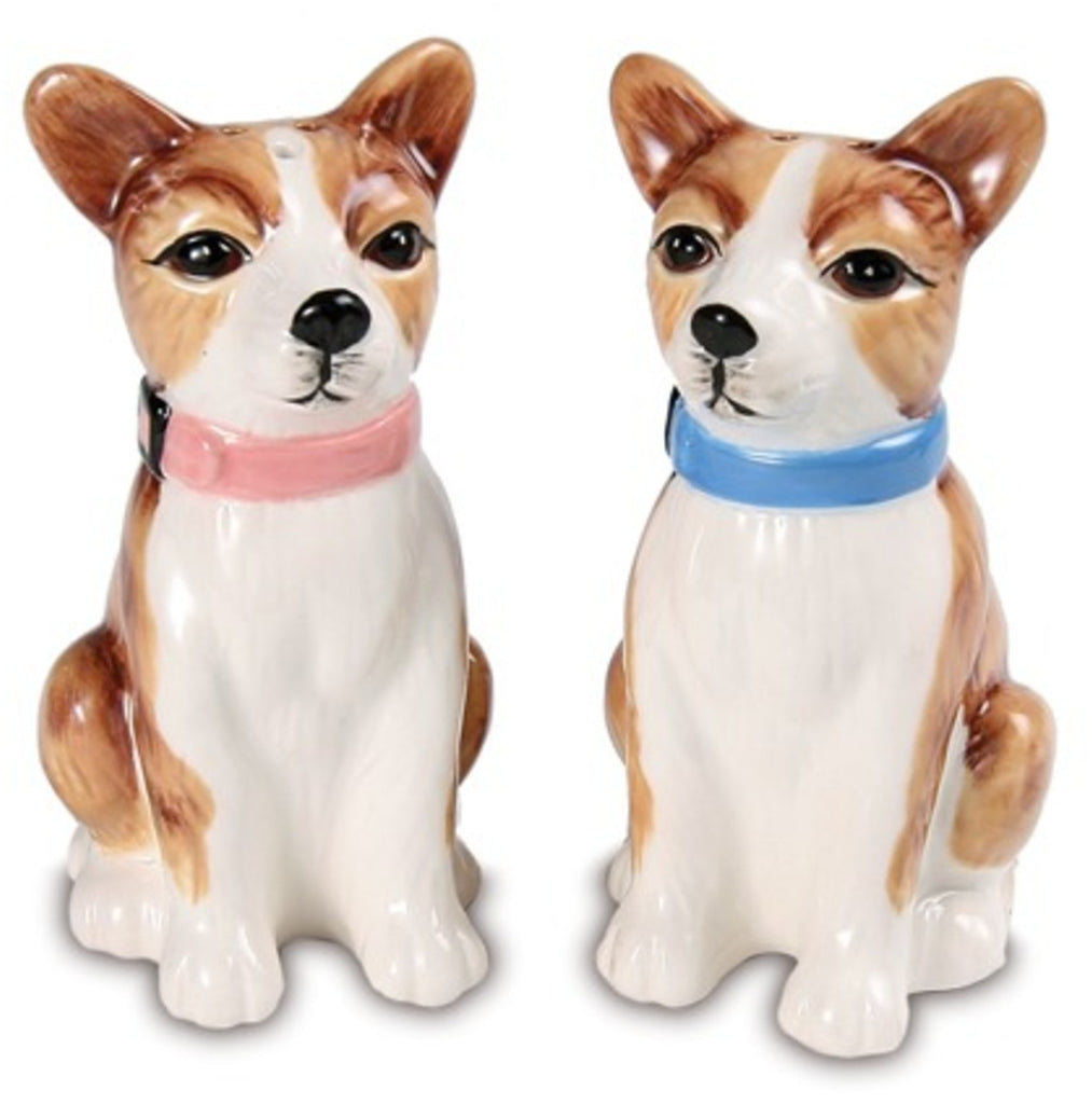 Peanut & Chai Chihuahuas Dog Salt and Pepper Shaker Set S & P Shakers - Beloved Gift Shop