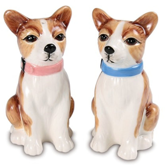 Peanut & Chai Chihuahuas Dog Salt and Pepper Shaker Set