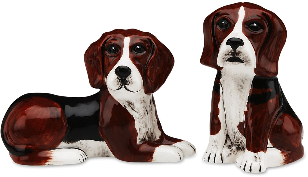 Mandy & Sadie Beagle Dog Salt and Pepper Shaker Set Salt & Pepper Shakers - Beloved Gift Shop