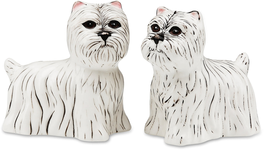 West Highland Terrier Salt and Pepper Shaker Set Salt & Pepper Shakers - Beloved Gift Shop