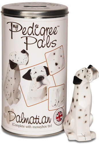 Dalmatian Figurine Coin Bank Figurine Coin Bank - Beloved Gift Shop