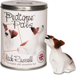 Jack Russell Figurine Coin Bank