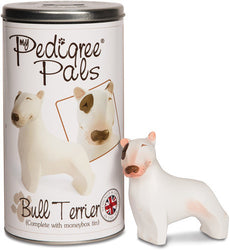 English Bull Terrier Figurine Coin Bank