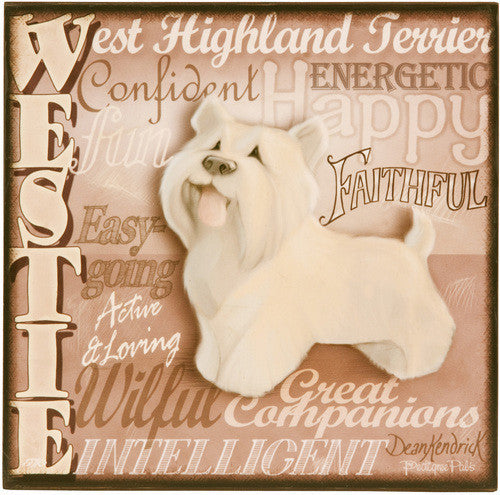 Westie Freestanding Plaque Plaque - Beloved Gift Shop