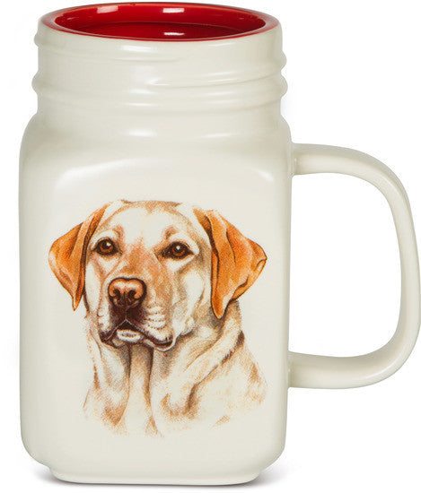 All you need is Love and a Yellow Lab Coffee Tea Beverage Mug Latte Mug - Beloved Gift Shop
