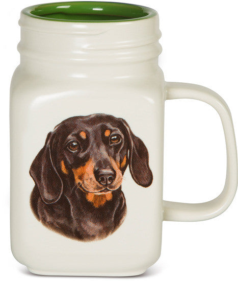 All you need is Love and a Dachshund Coffee Tea Beverage Mug Latte Mug - Beloved Gift Shop