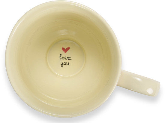 A mother's heart is filled with love Coffee Mug Mug - Beloved Gift Shop
