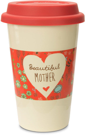 Beautiful Mother Ceramic Travel Mug Travel Mug - Beloved Gift Shop