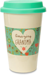 Amazing Grandma Ceramic Travel Mug