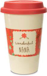 Wonderful Nana Ceramic Travel Mug