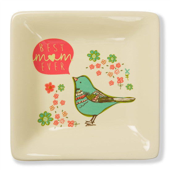 Best Mom Ever Keepsake Dish Keepsake Dish - Beloved Gift Shop