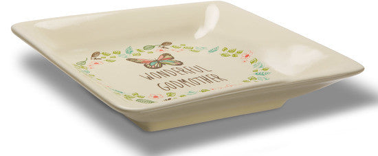 Wonderful Godmother Keepsake Dish Keepsake Dish - Beloved Gift Shop
