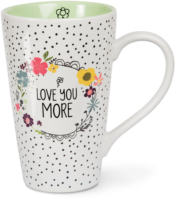 Love you more Latte Mug Latte Mug - Beloved Gift Shop