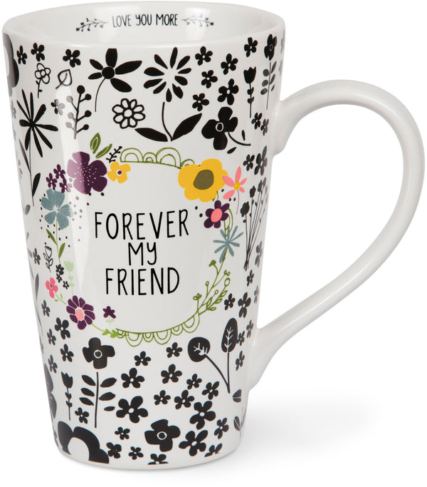 Forever my friend Latte Mug Latte Mug - Beloved Gift Shop