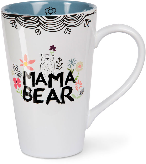 Mama Bear Latte Mug Latte Mug - Beloved Gift Shop
