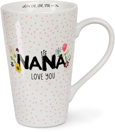 Nana love you Latte Mug