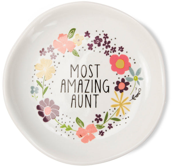Most amazing aunt Keepsake Dish Keepsake Dish - Beloved Gift Shop