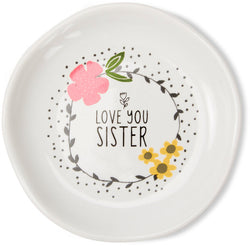 Love you Sister Keepsake Dish