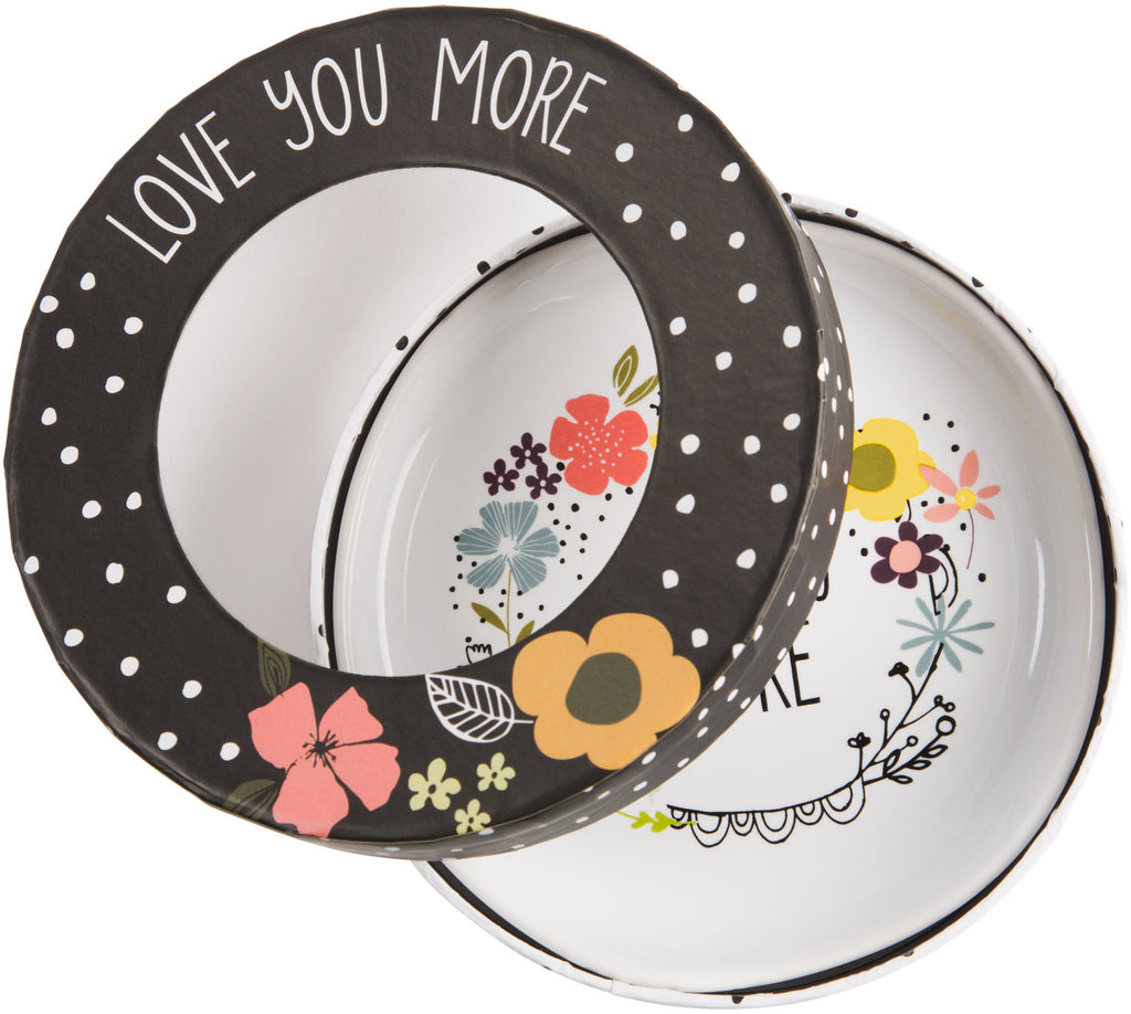 Friend you make each day brighter and life so much happier Keepsake Dish Keepsake Dish - Beloved Gift Shop