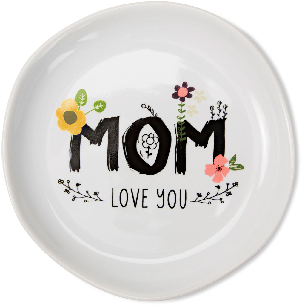 Mom love you Keepsake Dish Keepsake Dish - Beloved Gift Shop