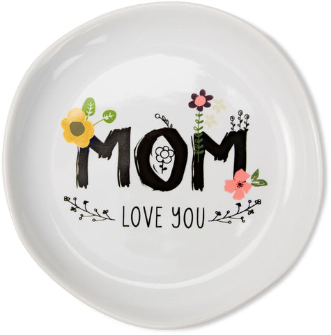 Mom love you Keepsake Dish by Love You More - Beloved Gift Shop