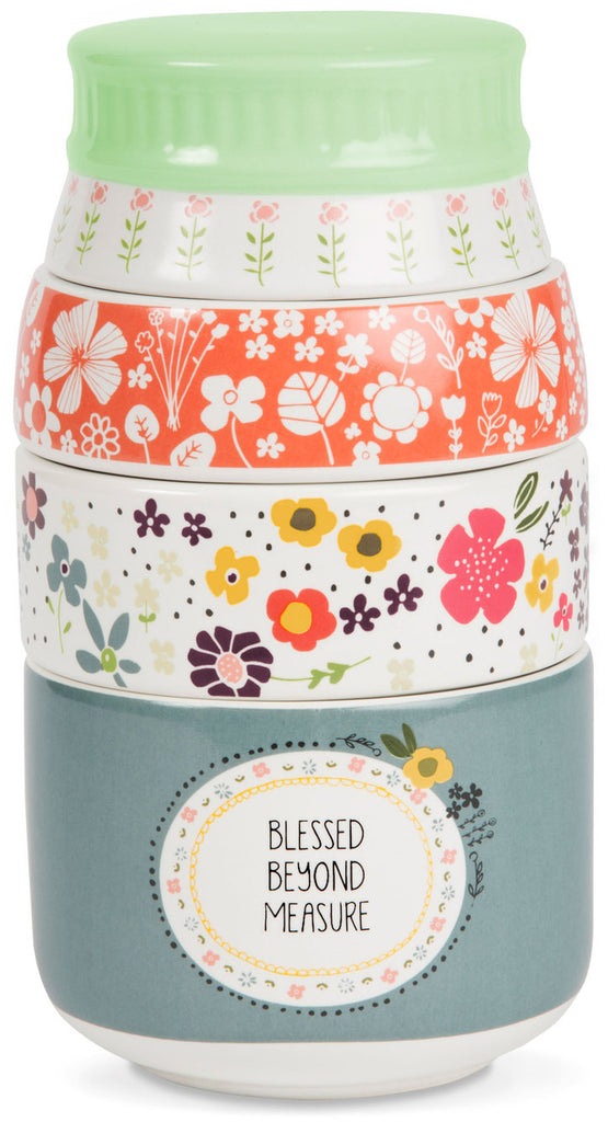 Blessed beyond measure Stacked Measuring Cups Measuring Cup - Beloved Gift Shop