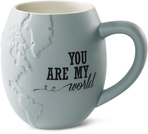 You are my World Mug by Global Love - Beloved Gift Shop