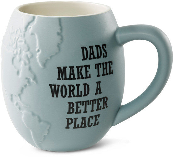Dads make the World a better place Coffee & Tea Mug by Global Love - Beloved Gift Shop