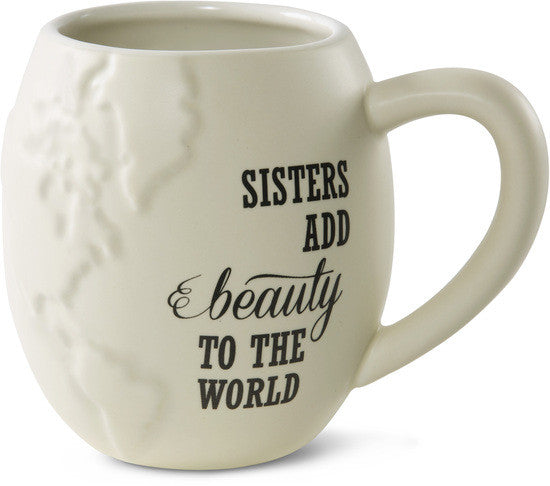 Sisters add beauty to the World Mug by Global Love - Beloved Gift Shop