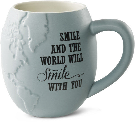 Smile and the World will Smile with you Coffee & Tea Mug by Global Love - Beloved Gift Shop