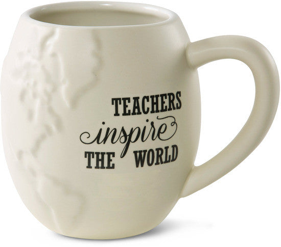 Teachers inspire the World Coffee Mug