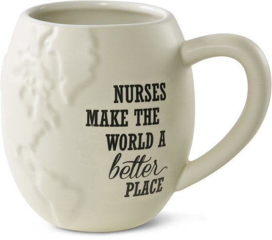 Nurses make the World a better place Mug by Global Love - Beloved Gift Shop