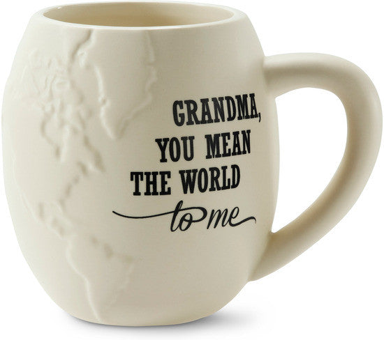 Grandma you mean the world to me Coffee Mug