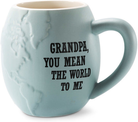 Grandpa you mean the world to me Mug by Global Love - Beloved Gift Shop