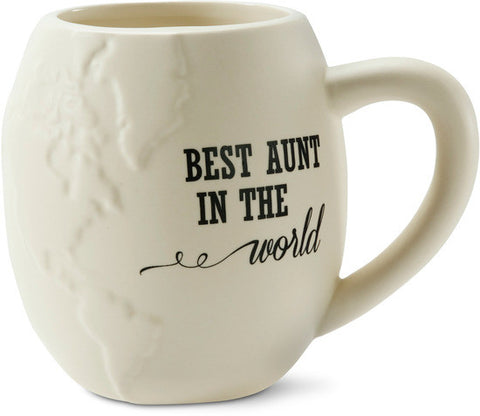 Best Aunt in the World Coffee & Tea Mug by Global Love - Beloved Gift Shop